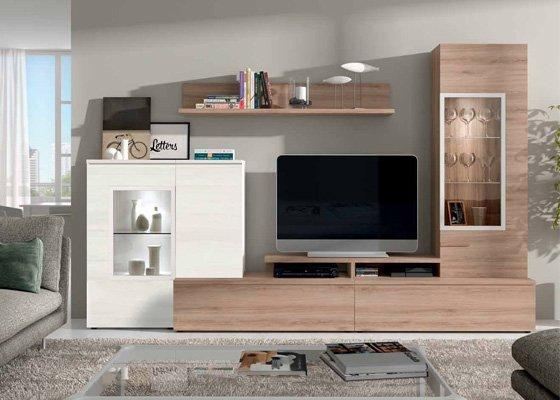 Muebles de Salon de diseño, al mejor precio. Arcomuebles.es