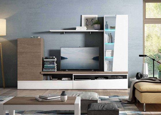 mueble de salon moderno coleccion trake 27