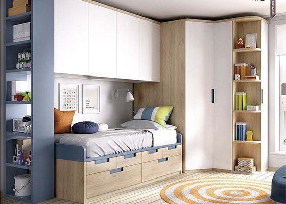 dormitorio juvenil COMPACTOS coleccion RIMOBEL 23