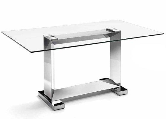 mesa de cristal KUBIC 01