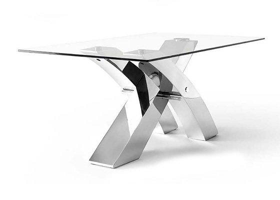mesa de cristal LOGAN 01