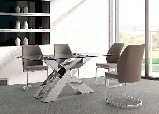 mesa de cristal LOGAN 03