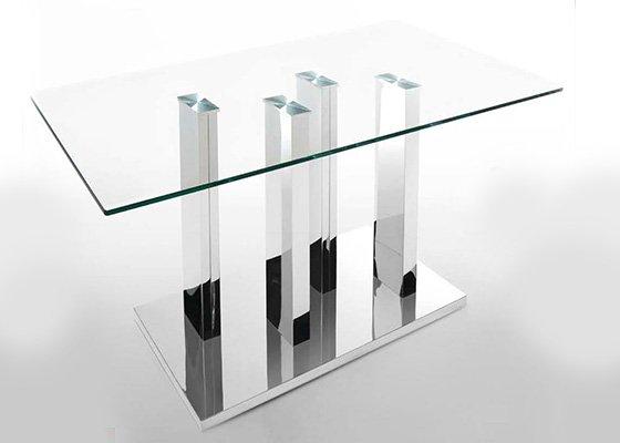 mesa de cristal LOTUS 01