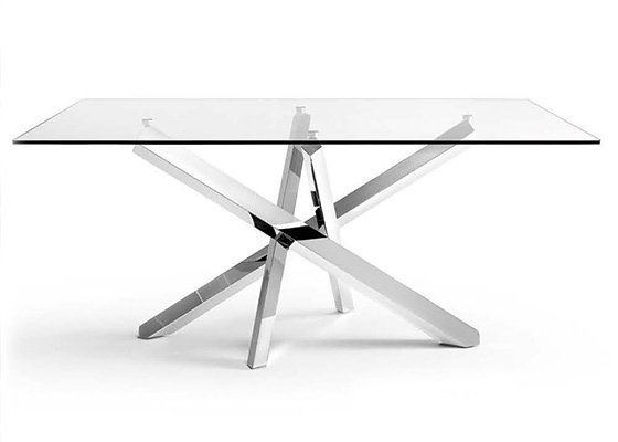 mesa de cristal MILAN 01