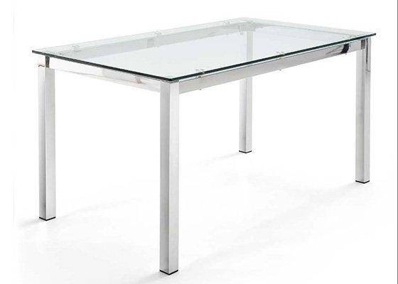 mesa de cristal PIAMONTE 01