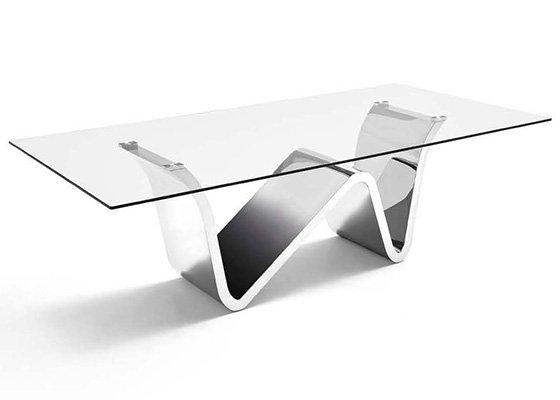 mesa de cristal RIZZO 01