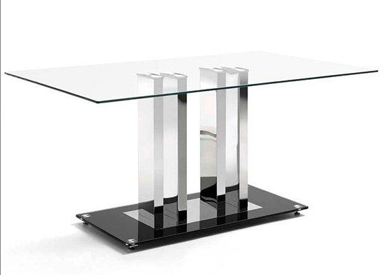 mesa de cristal TRINIDAD 01