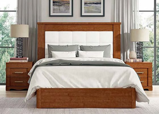 dormitorio de matrimonio de madera coleccion torre 01