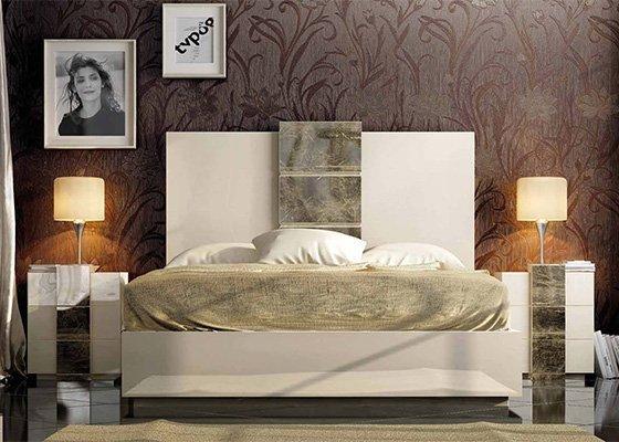 dormitorio de matrimonio moderno de la coleccion WIK 01
