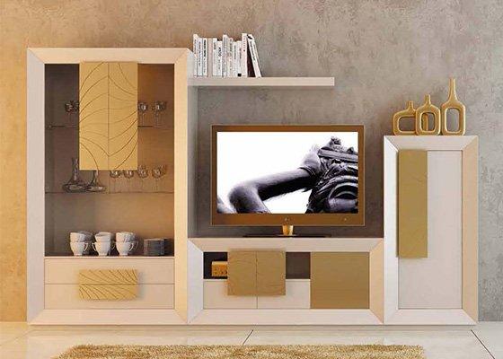 muebles de salon coleccion LUZEN 104