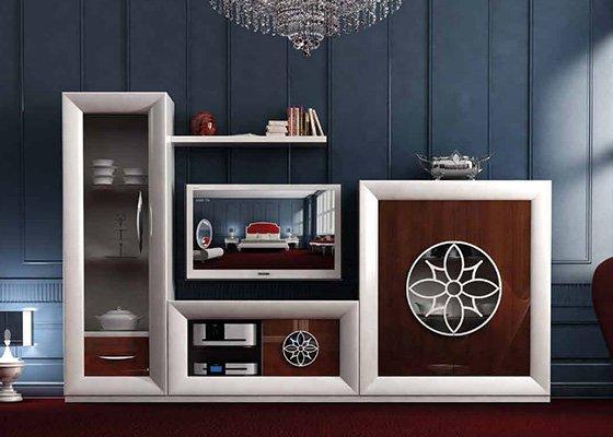 muebles de salon coleccion LUZEN 74