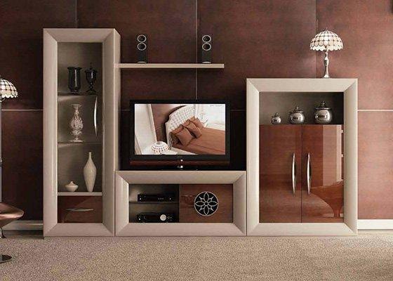 muebles de salon coleccion LUZEN 75