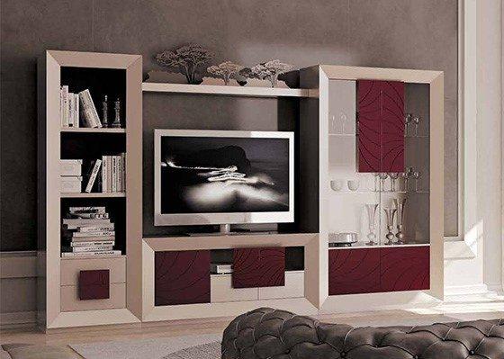 muebles de salon coleccion LUZEN 96