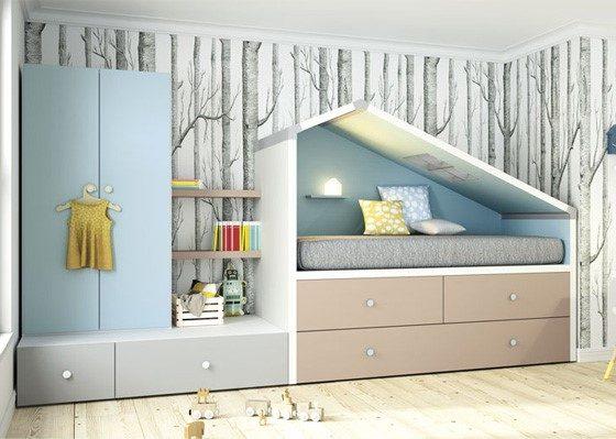 habitacion juvenil casita