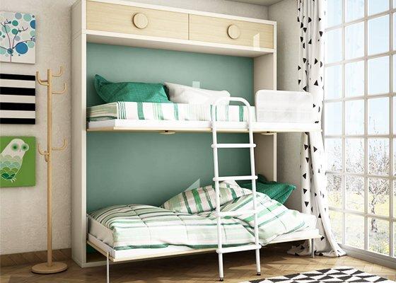 cama abatible diseño abierta