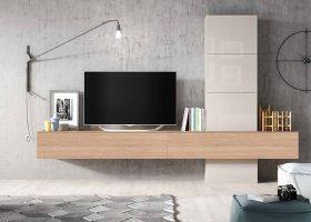 mueble de salon moderno coleccion MESAGE 01