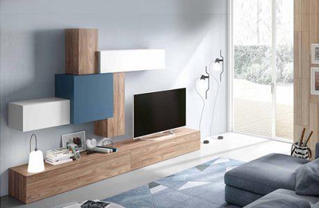 mueble de salon moderno coleccion MESAGE 05